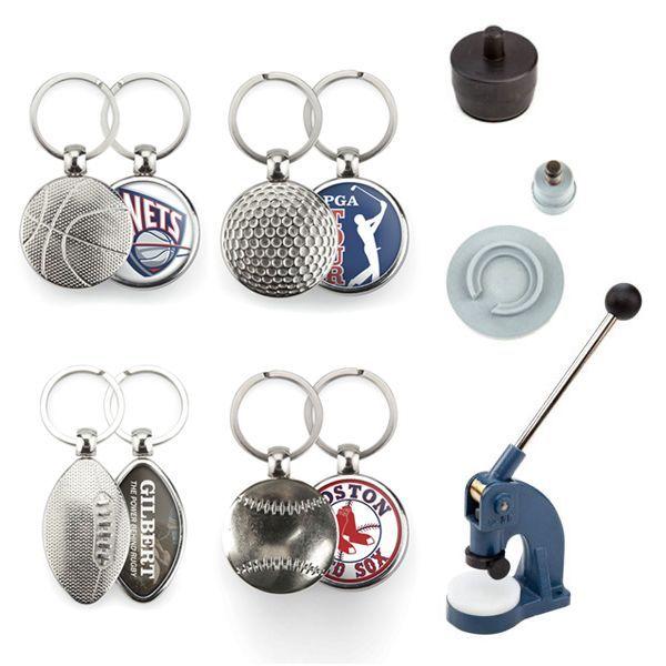 Key-rings Kit Baseball,basket,Golf and Rugby