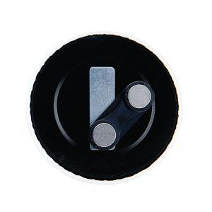 50mm double-magnet badge components