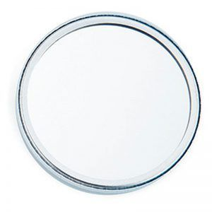 75mm mirror badge components