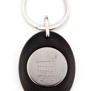Acrylic 1 side key-ring components CR-Z 25 CARRO