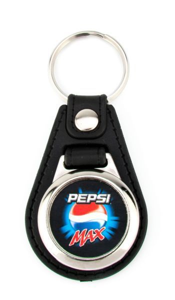 Synthetic leather 1 or 2 sides key-ring components MD-25
