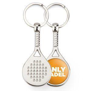 Metal 1 side paddel key-ring components MPD