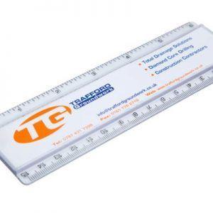 Transparent acrylic ruler components REG-15