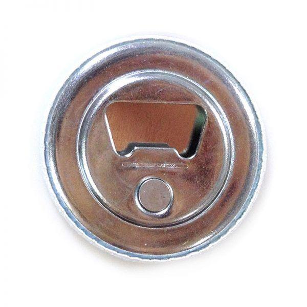 59mm magnetic bottle-opener badge components